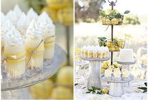 soft lemon color wedding
