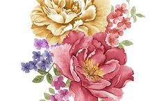 Kukkia ja muuta vintage