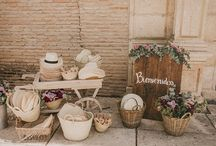 BODA EN VERANO / Te damos algunas ideas y detalles lindos pensando en tus invitados y en ti si tu boda es en pleno verano! / by Belle Novia Vestidos de Novia