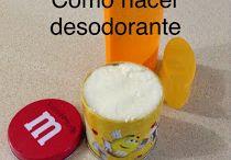 cómo hacer desodorante