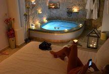sypialnia z jacuzzi