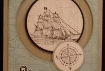 The Open Sea Stampin' Up! Stamp Set Greeting Cards