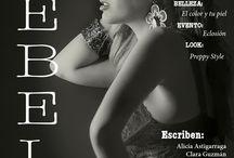Mis publicaciones / Revistas de belleza, moda y estilo de vida con las que he colaborado.