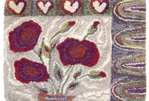 Traditional/Fibre Rug Hooking / by Carolyn Swann