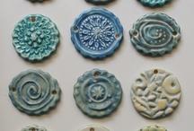 Pendants / White Clover Kiln handcrafted pendants by Mary Welsh Hubbard www.whitecloverkiln.com