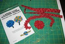 Coin Ruching / Designs featuring Piecing Pals Coin Ruching Guides from Quilting Creations International