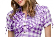 Tracht Blouses / Tracht blouses by Stockerpoint are an eye-catcher at every event. Combined with leather trousers or a pair of jeans you will make a great impression. These high-quality blouses look both sporty and romantic, making them the perfect outfit for the Oktoberfest or any other party. http://www.trachten-dirndl-shop.co.uk/