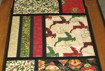 Table runners quilted
