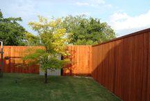 Side By Side Fences / Side by Side fences built by Titan Fence & Supply Company