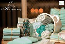 Solwang Design im LilleHus Store Online-Shop / Kunterbunte Wischlappen für mehr Freude beim Spülen und Putzen