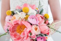 Pink Wedding Flowers (Bouquets, Centerpieces, and Decor)