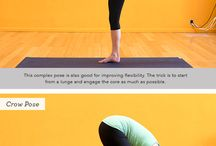 Yoga and other stretchy stretchy moves