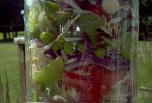 Salads & dressings  / by Kimberly Salak-Smith