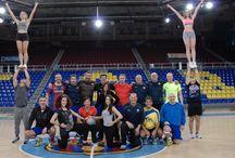 Entrenaments equip veterans Handbol