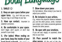 ETIQUETTE - Body language