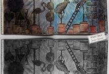 Minhas pinturas / Livros de pintar e afins
