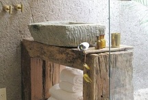 Bathroom  #LiquidGoldSalvagedWood