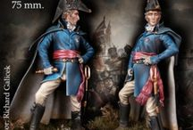 Historical Miniature Figures / Resin or white metal miniatures in various scales, from 54mm to 120mm
