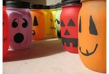 Halloween Crafts / Goodwill finds turned into hauntingly cute Halloween crafts!