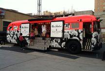 Mobile exhibition - human