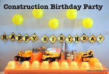 Construction Machine Birthday / by Jessica Stay At Home-ista