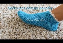 ponožky, bačkory