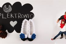 plektronio's handcrafted knits for adults / Snuggle up in our warm and chic handmade knits! #plektronio #handmade #knits #snuggleup / by plektronio