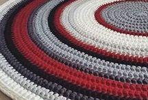 ковры из трикотажной пряжи
