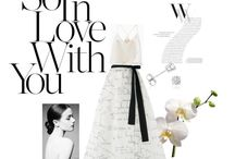 Bridal styling / Bridal styling look book