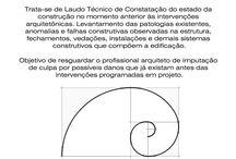 Pericias e laudos de Engenharia e Arquitetura