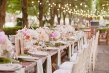Spring Wedding Ideas / Cakes, dresses, flowers and favors, all for Spring Weddings