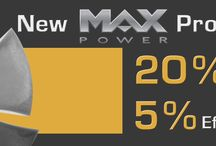 Max Power banners