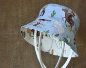 CHILDREN'S HATS / Handmade children's hats - great sun protection for the littlest members of our family.  Perfect for daycare, kindergarten and school for when a full-brim option is required.