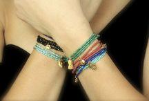 DIY bracelets!!! / Easy to make!