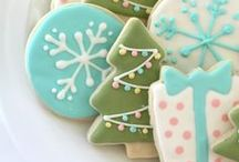 Cookie decorating ideas / Fun ideas for decorating Christmas Cut Outs