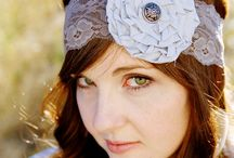 lace headbands / by Tracy Boyett Williams
