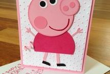 Little/young girl card