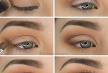 make up of eye
