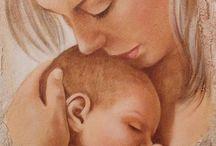 x matka z dzieckiem x