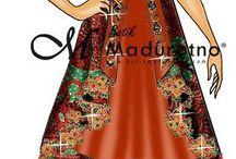 sketsa dress