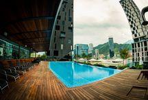 Valentina Garza Mercado- Magma Towers, GM Capital / Magma Towers, proyecto de GM Capital cuenta con increíbles vistas, las cuales resaltan la mezcla de arquitectura, interiorismo y paisajismo.