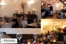Nour Lifestyle zakelijke voorbeelden / Voorbeelden van Arabische lampen en woonaccessoires van Nour Lifestyle in zakelijke projecten zoals restaurants e.d.