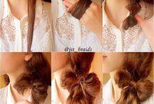 Peinados / Peinados super cool e hiper faciles ♥