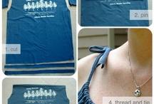 Upcycled shirts