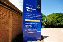 Signage | Woodland Place / Like what you see? Talk to us about your next brand activation project today. www.octink.com