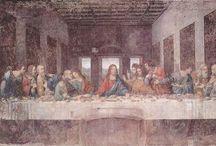 Historiska målningar / Olika målningar från historisk tid.