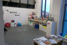 Activity Zones. / At NCCD we provide spaces for young people and families to experience creative activities alongside our exhibitions. Here's a selection of a few of our activity zones, past and present.