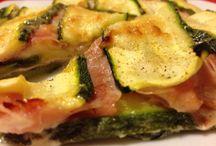 zucchine food / piatti con zucchina