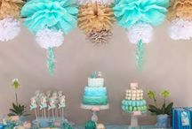 Birthday Theme: Mermaid Party / Ideas for a #mermaid, #fish, #under the sea (and maybe some pirate) #birthday #party