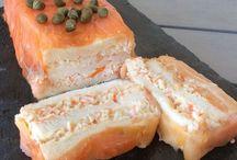 Pastel de salmon Ahumado